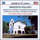 Willson: Symphony no 1 and 2 / Stromberg, Moscow SO