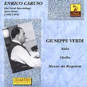 Vocal Archives - Enrico Caruso - The Verdi Recordings Vol 3