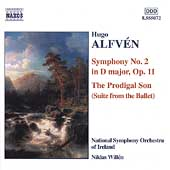 Alfvén: Symphony no 2, Prodigal Son / Willén, Ireland SO