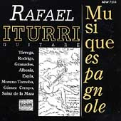 Guitar Music of Spain / Rafael Iturri