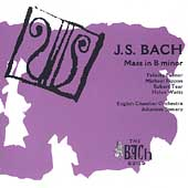 Bach: Mass in B Minor / Somary, Palmer, Watts, Tear, et al