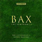 Bax: The Symphonies / Vernon Handley, BBC Philharmonic