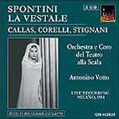 Spontini: La Vestale / Votto, Callas, Corelli, Sordello