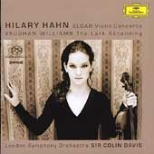Elgar: Violin Concerto;  Vaughan WIlliams / Hahn, et al [SACD]