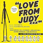 Original London Cast/Jean Carson: Love from Judy [Original London Cast]