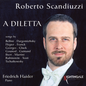 A Diletta - Songs by Bellini, Franck, Gluck, Gounod, Ibert, Tosti et al. / Roberto Scandiuzzi, bass; Friedrich Haider, piano