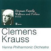 Strauss Family - Waltzes & Polkas Vol 2 / Clemens Krauss