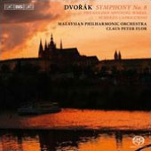 Dvorak: Symphony no 8; The Golden Spinning Wheel; Scherzo Capriccioso / Malaysian PO - Claus Peter Flor