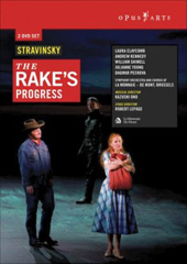 Stravinsky: The Rake's Progress / Kazushi Ono/SO & Chorus of La Monnaie, Laura Claycomb, Andrew Kennedy [DVD]