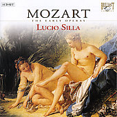 Mozart - The Early Operas - Lucio Silla / Cambreling