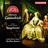 Contemporaries of Mozart - C. Cannabich: Symphonies