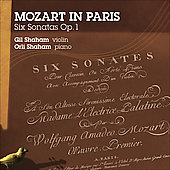 Mozart in Paris -  Six Sonatas / Gil and Orli Shaham