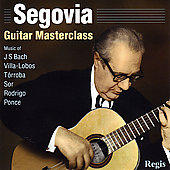 Guitar Masterclass - Bach, Sor, etc / Andr&#233;s Segovia