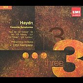Triples - Haydn: Symphonies / Klemperer, New Philharmonia Orchestra, et al