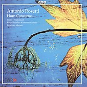 Rosetti: Horn Concertos / Moesus, Wallendorf, Willis, et al