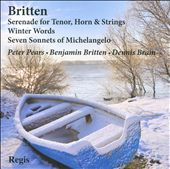 Peter Pears, Dennis Brain, Eugene Goossens perform Britten