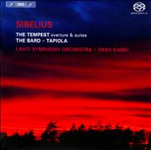 Sibelius: The Tempest; The Bard; Tapiola / Kamu - Lahti SO