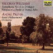 Classics - Vaughan Williams: Symphony no 5, etc / Previn