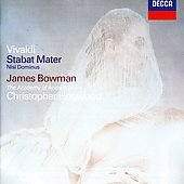 Vivaldi: Stabat Mater, etc / Hogwood, Bowman, et al