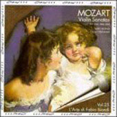 Mozart: Violin Sonatas / Fabio Biondi, Olga Tverskaya