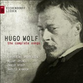 Wolf: Complete Songs, Vol. 8 - Eichendorff Lieder / Katherine Broderick, Nicky Spence, David Stout, Sholto Kynoch