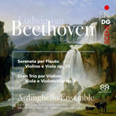 Beethoven: Serenade Op. 25; String Trio, Op. 3 / Ardinghello Ensemble