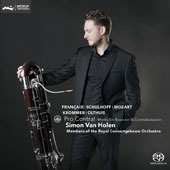 Pro Contra!: Chamber Works for Bassoon & Contrabassoon by Francaix, Schulhoff, Mozart, Krommer, Kees Olthuis / Simon Van Holen, bassoons; Concertgebouw Orch. Members