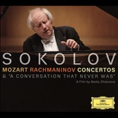Grigory Sokolov Plays Mozart, Rachmaninov: Concertos & 'A Conversation That Never Was' / Grigory Sokolov, piano; Trevor Pinnock; Yan Pascal Tortelier