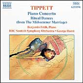 Tippett: Piano Concerto, Ritual Dances / Frith, Hurst, et al
