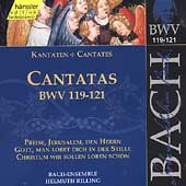 Edition Bachakademie Vol 38 - Cantatas BWV 119-121 / Rilling