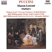 Puccini: Manon Lescaut (Highlights) / Rahbari, Gauci, et al