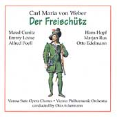 Weber: Die Freisch&#252;tz / Ackermann, Cunitz, Loose, et al