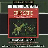 Historical - Satie: Orchestral Works / Abravanel, Utah SO