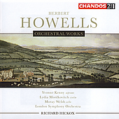 Howells: Orchestral Works / Hickox, London SO