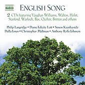 English Song / Langridge, Lott, Keenleyside, et al