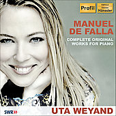 De Falla: Complete Original Works for Piano / Weyand