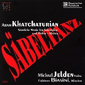 Khachaturian: Works for Violin and Piano / Jelden, Biasini