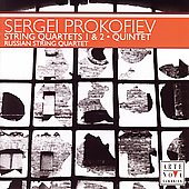 Prokofiev: String Quartets, Quintet, Overture / Russian SQ