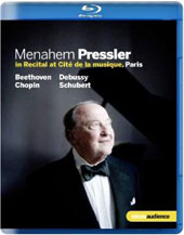 Menahem Pressler In Recital at Cite de la Musique, Paris [Blu-Ray]