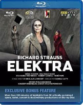 R. Strauss: Elektra / Iréne Theorin, Waltraud Meier, Eva-Maria Westbroek, Robert Gambill, René Pape Bonus: 150+ minutes of highlights from 50 critically acclaimed Arthaus productions on Blu-ray [Blu-Ray]