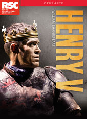 William Shakespeare: Henry V / Live from Stratford-Upon-Avon, Royal Shakespeare Company [DVD]