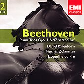 Gemini - Beethoven: Piano Trios Op 1 & 97 / Barenboim, et al