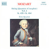 Mozart: String Quartets Vol. 1