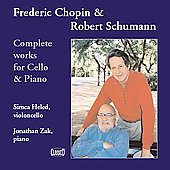 Chopin, Schumann: Complete Works for Cello & Piano