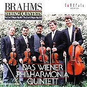 Brahms: String Quintets / Wiener Philharmonia Quintett