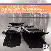 Enescu: Symphony no 3, Concert Overture in A Major / Mandeal