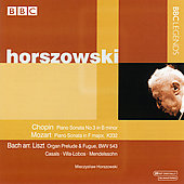 Casals, Chopin, Villa-Lobos, etc / Horszowski
