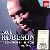 Paul Robeson: The Complete EMI Sessions 1928-1939 [Box]