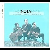 Rachmaninov, Arensky, Shostakovich: Piano Trios / Trio Nota Bene