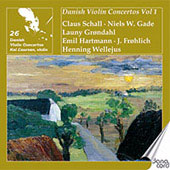 Danish Violin Concertos Vol 1 - Gade, Frohlich, etc / Kai Laursen, et al